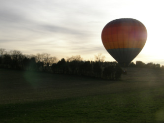 East Tennessee balloon rides of the Smoky Mountains